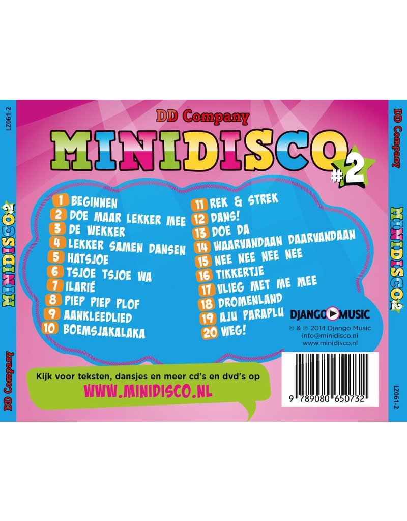 Minidisco CD #2 Dutch songs