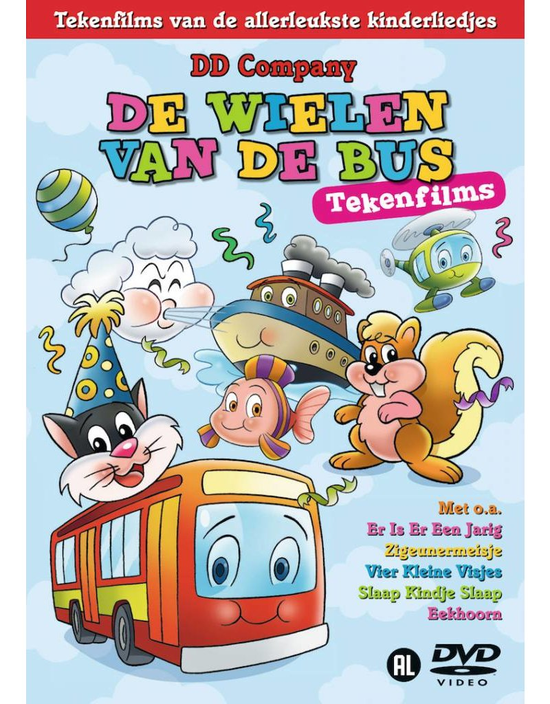 De Wielen Van De Bus Cartoons DVD