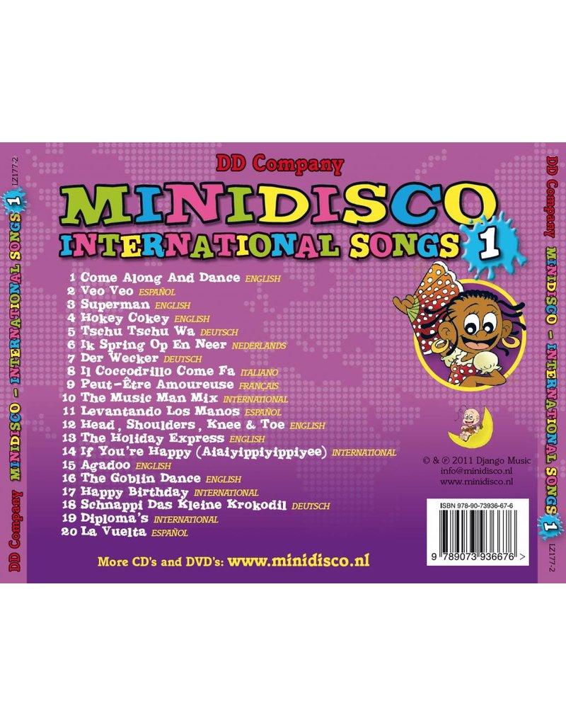 Minidisco international Songs CD # 1