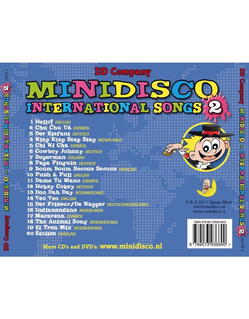Minidisco INTERNATIONAL CHANSONS CD #2