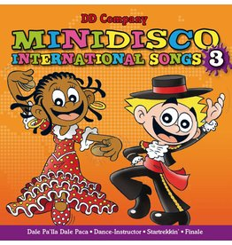 Minidisco Internationale Songs CD # 3