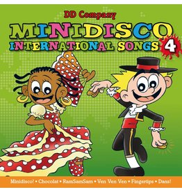Minidisco INTERNATIONAL CHANSONS CD # 4