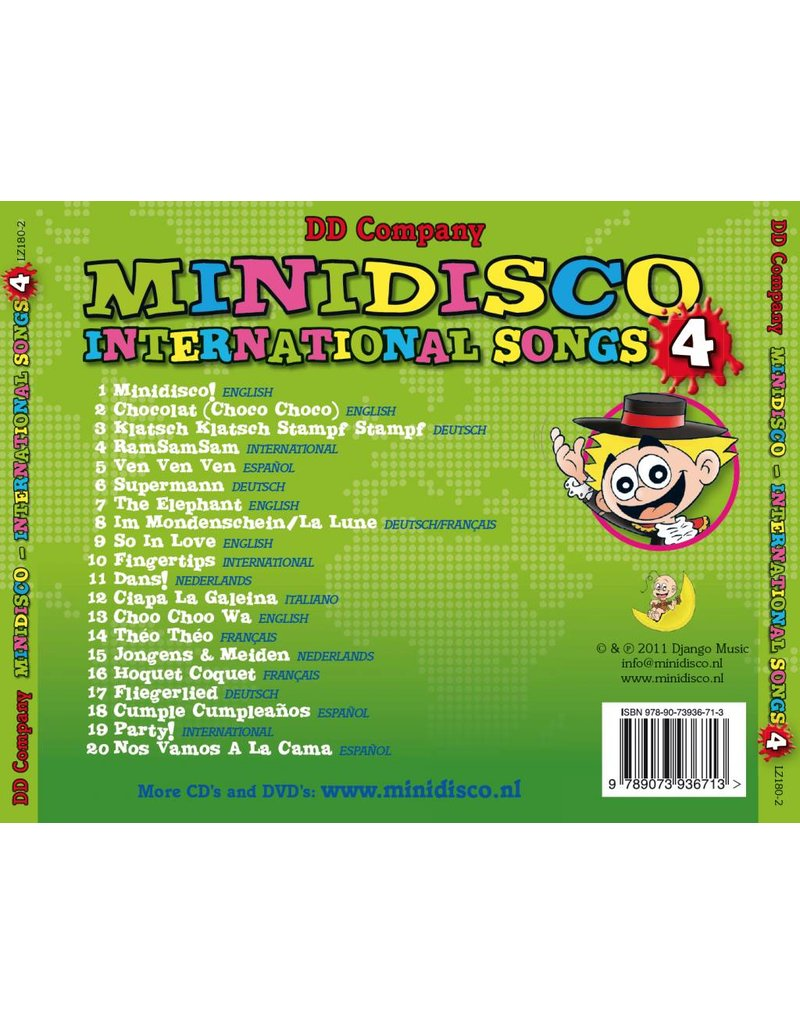 Mini-Disco INTERNATIONAL SONGS CD # 4