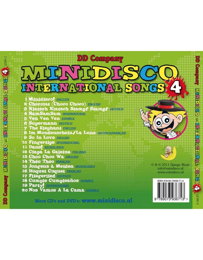Minidisco International Songs CD #4. Canciones Inter.