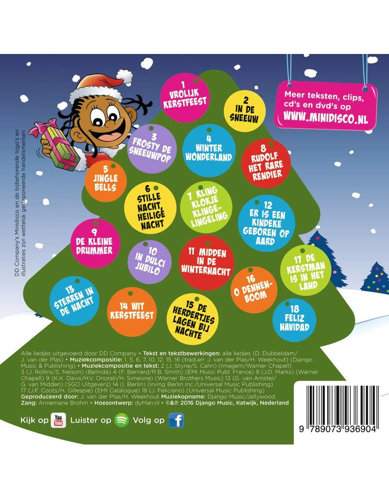 Minidisco Merry Christmas CD