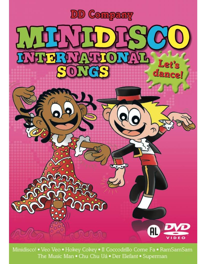 Minidisco International Songs DVD-canciones Internacional DVD
