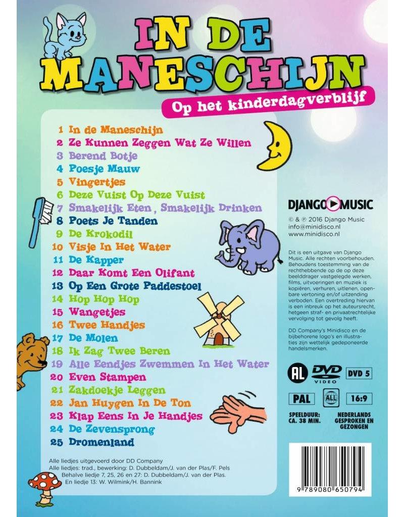 """Minidisco """"In De Maneschijn"""" Dutch songs and cartoons DVD"""