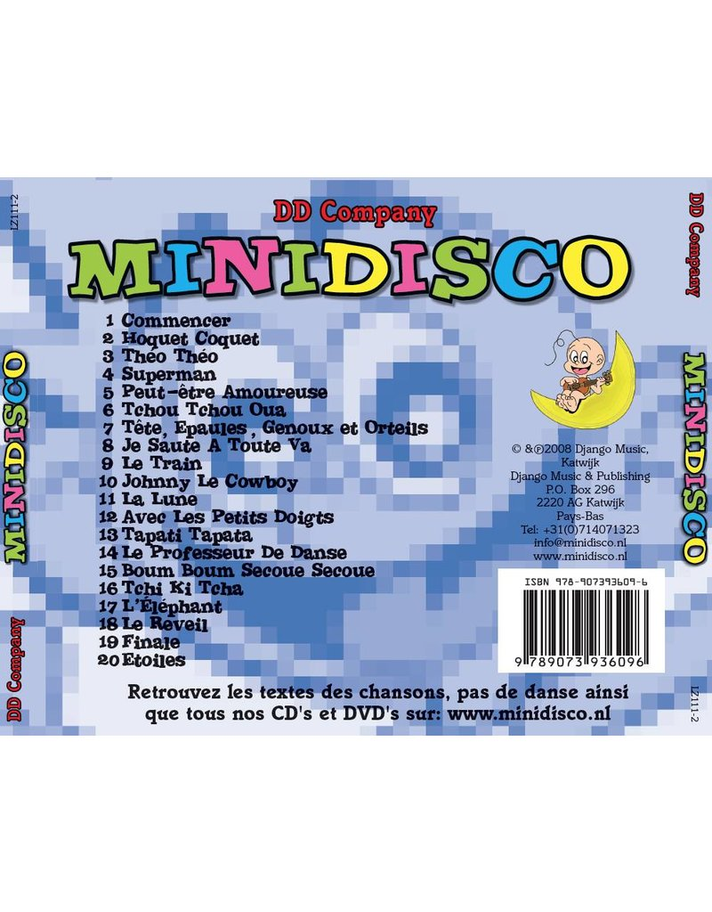 "Minidisco ""Les Meilleurs Hits"" French CD"