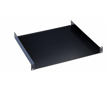 "K̦nig & Meyer 19"" Rack shelf black 1HE 30cm"