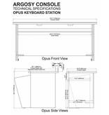 Argosy Opus 88 Keyboard Station
