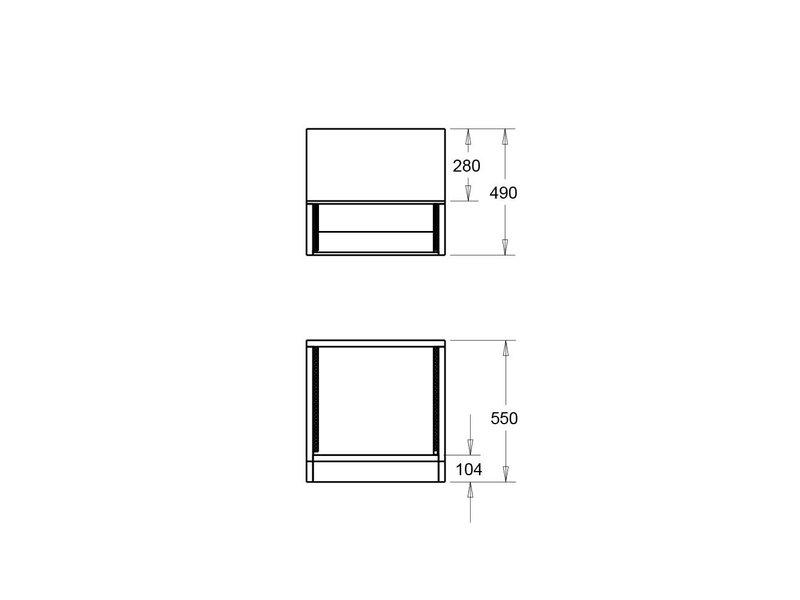 StudioDesk Floor Rack Cabinet