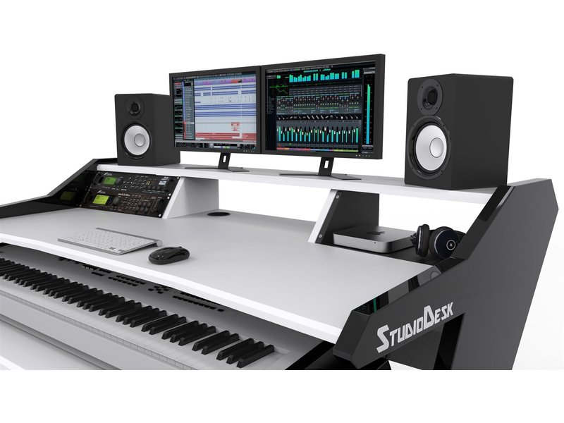 Rack shelf 4 U studiodesk voor commander serie