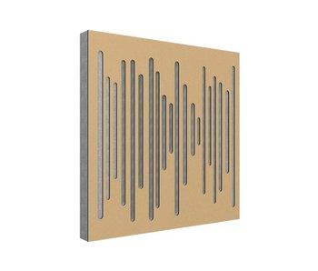 Vicoustic Wavewood Diffuser Ultra Golg Metalic