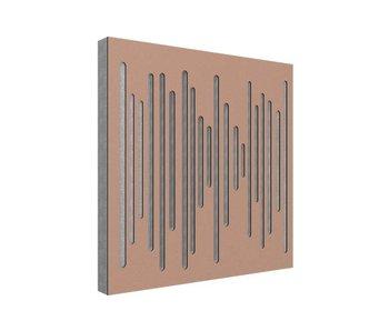 Vicoustic Wavewood Diffuser Ultra Copper Metalic