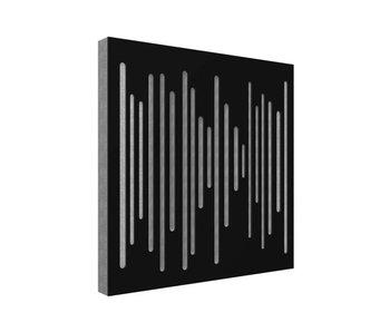 Vicoustic Wavewood Diffuser Ultra Black Mate