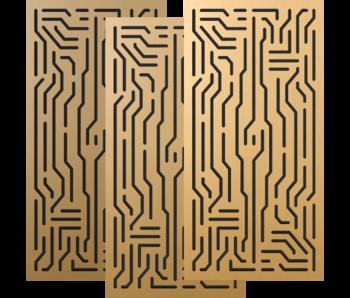 Artnovion Azteka Doble W - Absorber FG | (L09) Classic Gold