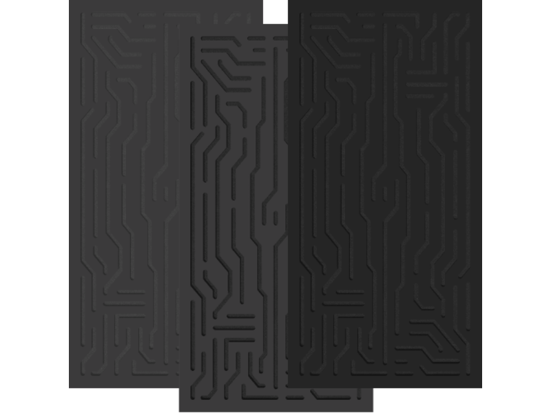 Artnovion Azteka Doble W - Absorber FG | (L07) Graphite Black