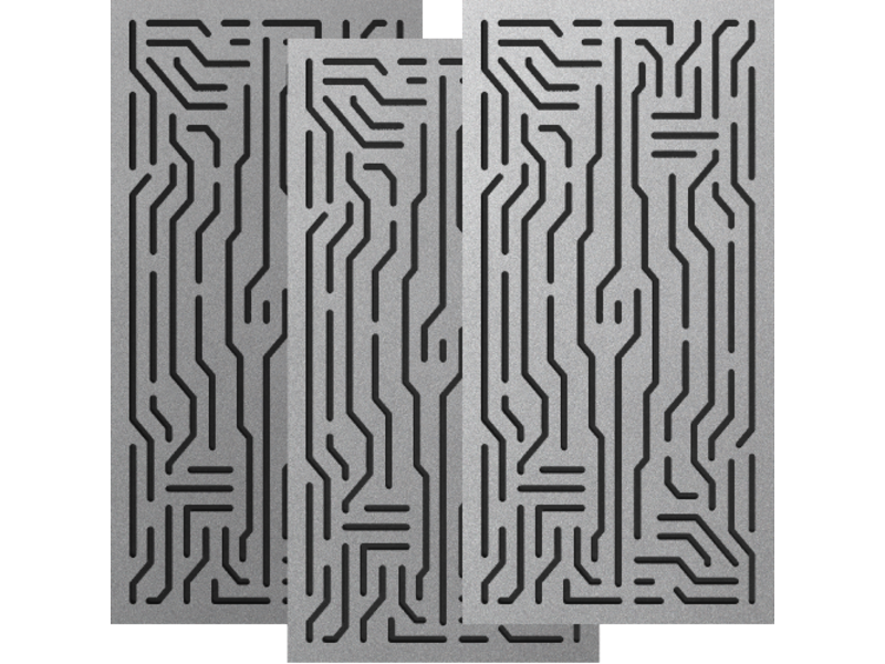 Artnovion Azteka Doble W - Absorber FG | (L05) Silver