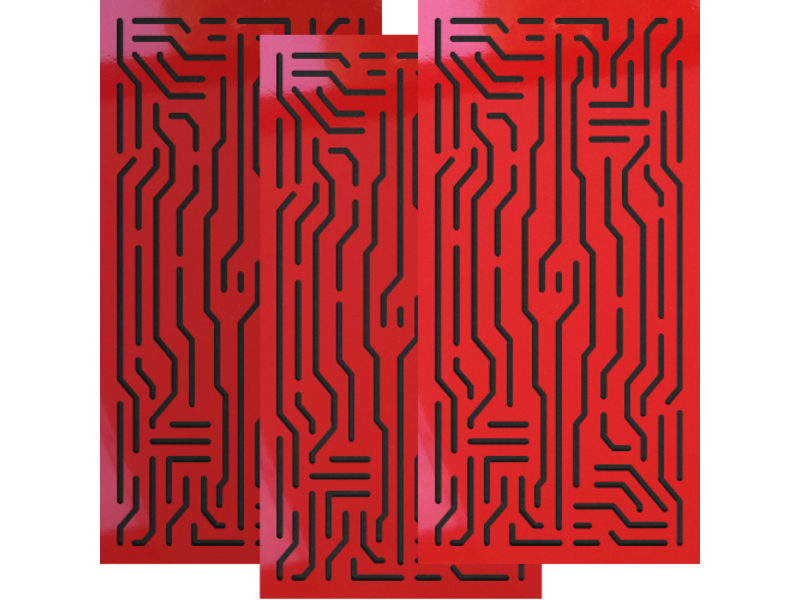 Artnovion Azteka Doble W - Absorber FG   (L03) Rouge