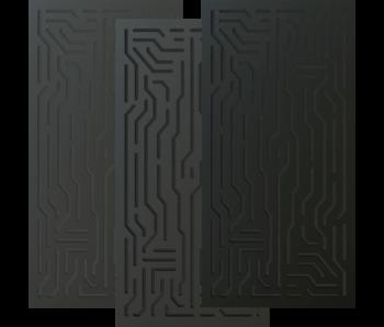 Artnovion Azteka Doble W - Absorber FG | (L02) Noir