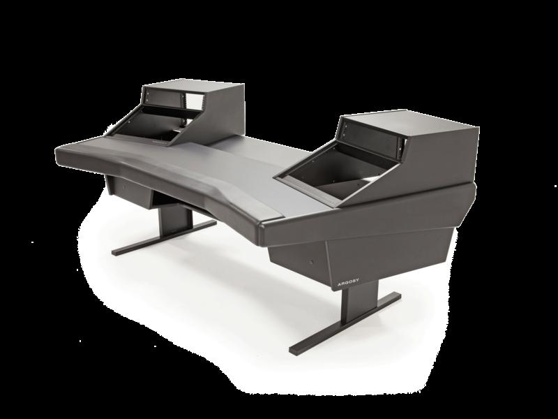 Argosy Dual 15 Workstation w/825 Rack Modules and Black End Panels
