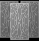Artnovion Azteka Doble W - Bass Trap - Wall - FG | (L05) Silver
