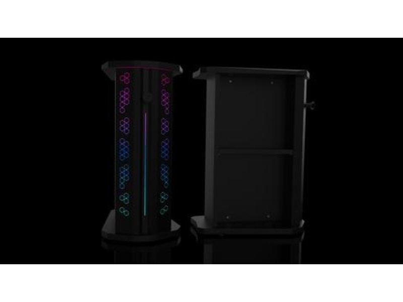 StudioDesk VALOR Station Gaming platform All black