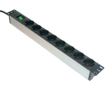 "Retex PDU 19"" S>8S+SWITCH"