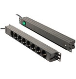 "Retex PDU 19"" S>8S+SWITCH front"