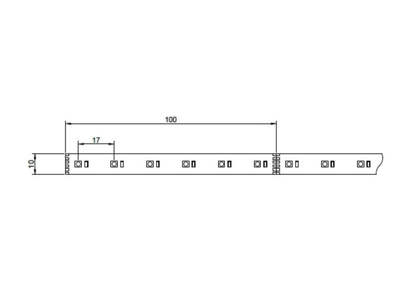 Epistar LED Strip RGBW 5m 24V
