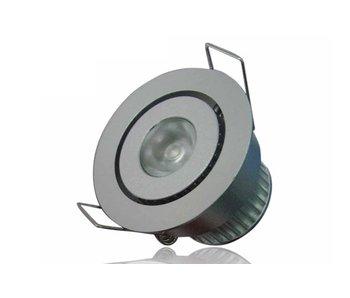 LED Downlight Easy 1X3W Warm-Wit