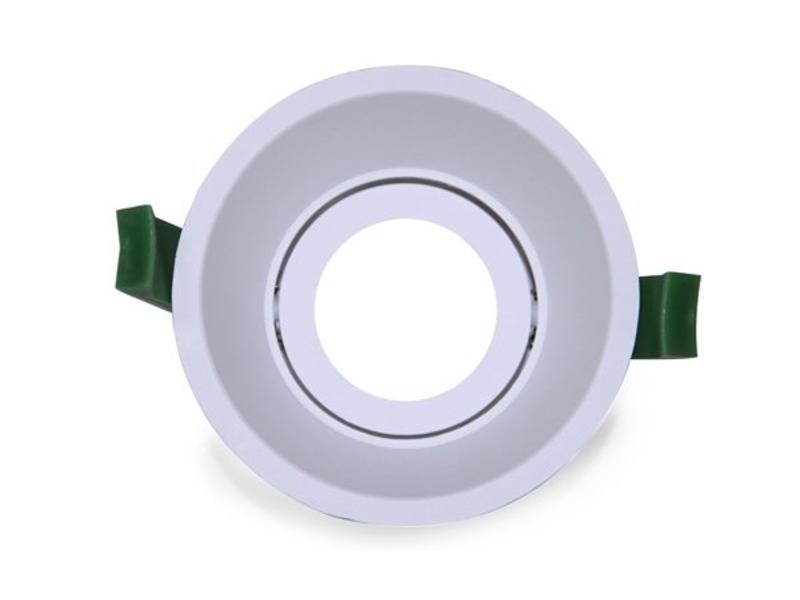 LED Downlight Ring Deep 90mm White