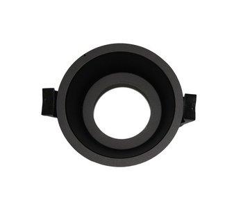 LED Downlight Ring Deep 75mm Black