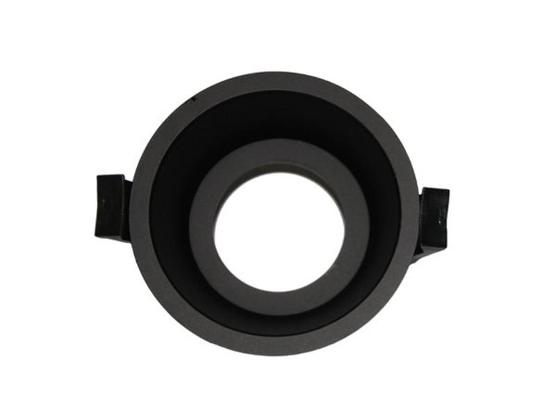 LED Downlight Ring Deep 75mm Black