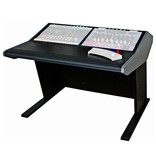 Sterling modular Two Bay Multi-Station Console - Producer Flat Desk Top Surface