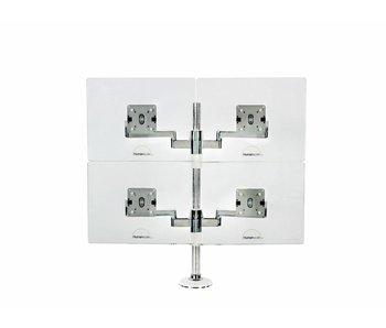 Humanscale MFlex Quadruple Monitor pole