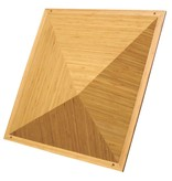 "Auralex Sustain Piramide Bamboo Diffusor, 6 ""x 23,75"" x 23,75 """