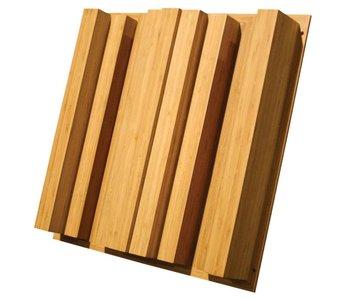 """Auralex Sustain QuadraTec Bamboo Diffusor, 4.1"""" x 23.75"""" x 23.75"""""""