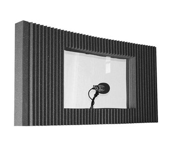 "Auralex MAXWall 211, 2-20""x48""x4.375"" panels, 1-Window, 1-Stand, 1-Clamp"