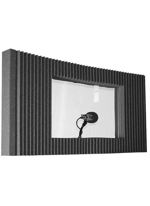 "Auralex MAXWall 211, 20/2 ""x48"" x4.375 ""panelen, 1-Window, 1-Stand, 1-Clamp"