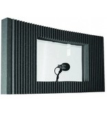 """Auralex MAXWall Window Kit, 1-20 """"x48"""" x4.375 """"paneel met Window kit"""