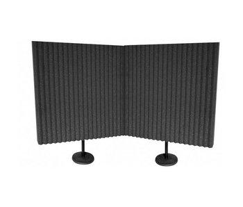 """Auralex DeskMAX Panels, 2'x2'x3"""" panel , including Desk Stand"""