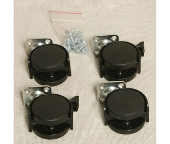 Auralex Casters/Wheels for ProGo 26 base - set of 4 casters