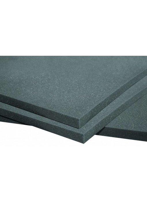 "Auralex PlatFoam Isolation Sheet, 2'x4'x1 ""panel"
