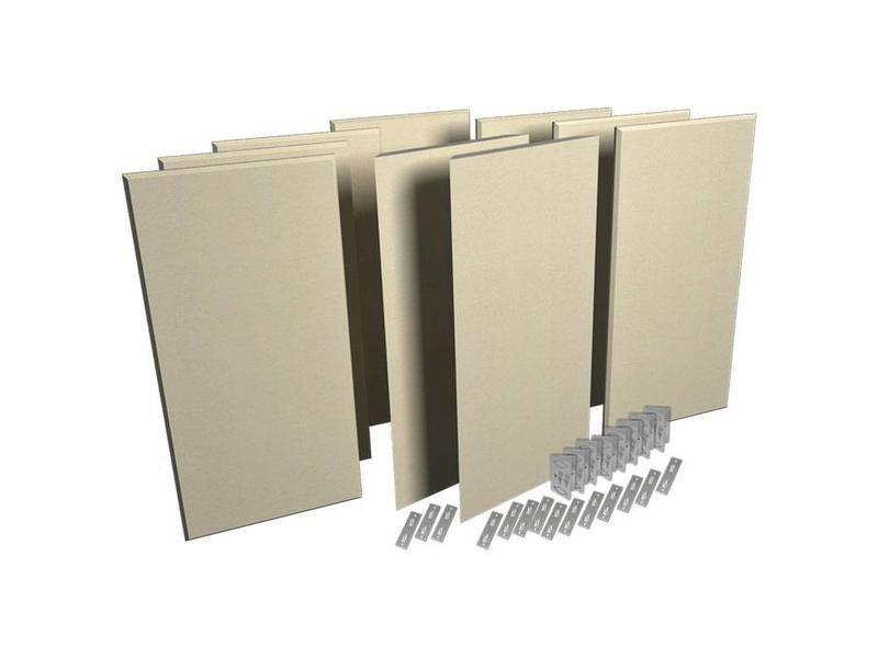 Auralex ProPanel ProKit 1-7-B224 ProPanels, 2-M224 ProPanels, bevestigingsmateriaal