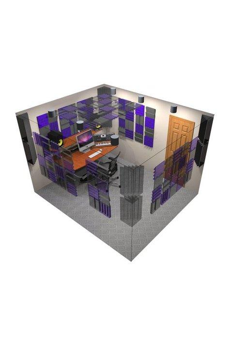 Auralex D108L DST Roominator Kit, 54-DST112 panels, 54-DST114 panels, 8-DST LENRD Bass Traps, 6-TTPRO
