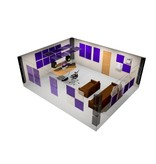 "Auralex Pro Plus Roominator Kit, 36-2'x2'x2"" Wedge panels, 12-LENRD Bass Traps, 8-T'Fusor, 8-TTPRO"