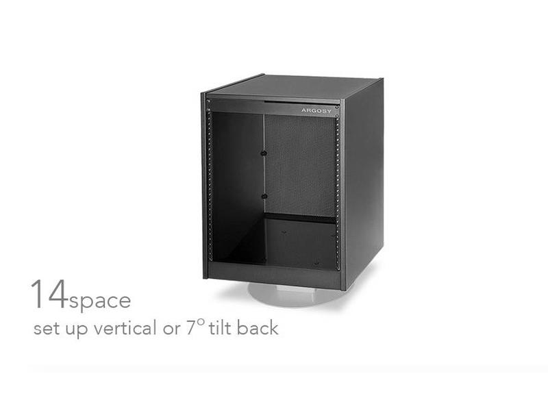 Argosy Mirage 14 Space Rack Black (Flat Packed)