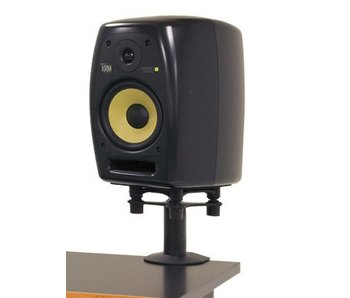 "Argosy Pair Speaker Mounts w/ApertaS Platform, Flex Mount Clamp in Black (7.75"")"