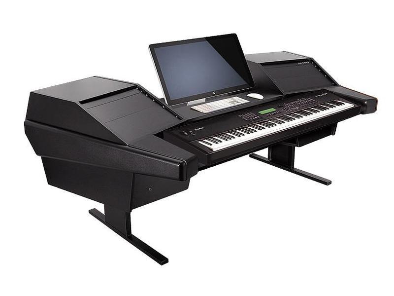 Argosy Dual 15K Keyboard Workstation w/803 Rack Modules and Black End Panels